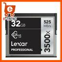【送料無料】レキサーメディア Professional 3500X CFast LC32GCRBJP3500 [Professional 3500x CFast 2.0カード 32GB]