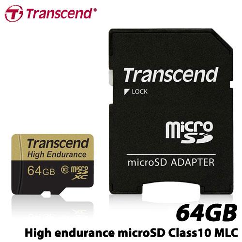トランセンド TS64GUSDXC10V [64GB 高耐久microSDXCカード Class 10 MLCフラッシュ搭載]