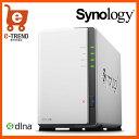 【送料無料】Synology DiskStation DS216j デュアルコアCPU搭載多機能 2ベイNASキット