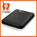 【送料無料】ウエスタンデジタル/WDBU6Y0015BBK-EESN [ポータブルハードディスクドライブ「WD Elements Portable」 1.5TB]
