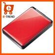 【送料無料】バッファロー HD-PNT1.0U3-RC [ターボPC EX2対応 耐衝撃&自動暗号化機能搭載 USB3.0用 ポータブルHDD 1TB レッド]