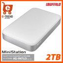 【送料無料】バッファロー MiniStation HD-PA2.0TU3 [Thunderbolt&USB3.0用 ポータブルHDD 2TB]