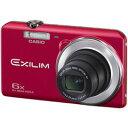 【送料無料】カシオ EXILIM EX-ZS28 レッド【デジタルカメラ コンパクト】