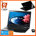 【送料無料】PC-SN232GSA8-2 [LAVIE Smart NS(S)(Core i3-6100U/4GB/500GB/15.6/DSM/マウス/Win10/H&B/ブラック)]