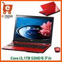 【送料無料】PC-SN232HSA8-1 [LAVIE Smart NS(S)(Core i3-6100U/4GB/500GB/15.6/DSM/マウス/Win10/レッド)]