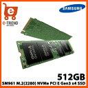 サムスン MZVKW512HMJP-00000 512GB SSD SM961 M.2(2280) NVMe PCI Express Gen3 x4