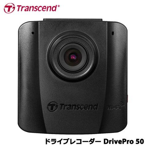 トランセンド TS16GDP50M [DrivePro 50 WiFi/バッテリ搭載コンパクトドライブレコーダー 吸盤ブラケット付属]