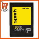 【送料無料】PATRIOT Spark Solid State Drives PSK128GS25SSDR [SSD 2.5インチ 128GB SATA6Gb/s 7mm TLC]