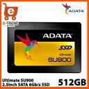 ADATA ASU900SS-512GM-C 512GB SSD Ultimate SU900 2.5インチ SATA 6G MLC(3D NAND) 7mm 5年保証