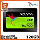 【送料無料】ADATA ASU700SS-120GT-C [120GB SSD Ultimate SU700 2.5インチ SATA 6G 7mm 3D TLC]
