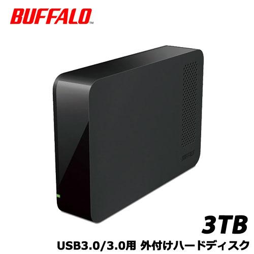 【送料無料】バッファロー HD-NRLC3.0-B [USB3.0 外付けハードディスク 3TB BUFFALO バッファロー]