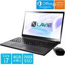 笔记型电脑 - PC-SN187BEAC-2 [LAVIE Smart NEXT(Core i7 8GB SSD256GB BDXL 15.6 H&B Win10 グレイスブラックシルバー)]