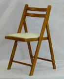 木製 折りたたみ椅子 レザー座ブラウン 5.0kg[NO.368 ブラウン]