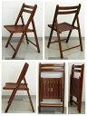 木製 折りたたみ椅子 木座ダークブラウン 4.1kg[NO.367Dブラウン]
