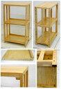 楽天越中屋木製の棚(背板のないタイプ) ナチュラル色高さ80 幅49 奥行30(新商品) 6.5kg[シェルフ FR-849S Sナチュラル]