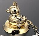 『ティーストレーナー カルガモ 18-8ステンレスゴールド』【クーポン対象商品!!】※ティータイムグ