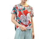 マックスマーラ ウィークエンド プリントTシャツ MAXMARA WEEKEND PALO 59410791 003 レッド