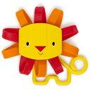 オーボール ライオンティーザー〜オーボール・シリーズの可愛らしいライオンさんの歯固め。ビーズが入っているので、ラトル(ガラガラ)としても使用できます。【02P0...
