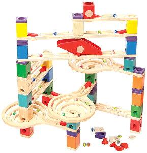 ボーネルンド クアドリラ・ツイスト ピタゴラ おもちゃ バリエーション スロープ