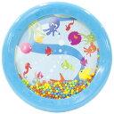 BorneLund ボーネルンド ハリリット オーシャンドラム〜イスラエルの子供用楽器 楽器玩具メーカー ハリリットの手の力が弱い小さなお子さまにも遊びやすいハンドドラム。海がテーマのデザインでビーズの音がまるで波のようです♪