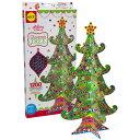 BorneLund ボーネルンド アレックス ステッカーデコレーション クリスマスツリー〜ボーネルンドの全長43cmのクリスマスツリーが作れるクラフトセット。デ...