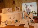 [ダイワ]森のシーソー〜動物やお家、木のくり抜きブロック14種類と、木製シーソーのセット、木箱入りです。