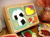 [ダイワ]木製 お弁当パズル〜可愛らしいランチボックスの食べ物を色々組み合わせが可能な木製お弁当のパズルです。【02P08Feb15】