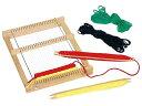 [Handelshaus ハンデルシャウス社]織り機〜マフラーなど大きなサイズから幅を合わせて小さなサイズまで織ることができます。