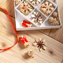 RoomClip商品情報 - [メール便可] Kimmerle キマール社 クリスマス ストローオーナメント 32個セット 赤糸 3-6cm 紙箱入〜ドイツ・キマール社のクリスマスツリーにぴったりなストローオーナメント32個のセットです。