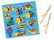 Mertens メルテン社 魚つりパズル ブルー (さお1本付)〜ドイツ・メルテン社の可愛らしいイラストの魚釣りパズルです。【02P27May16】