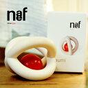 Naef ネフ社 カウミ Kaumi〜スイス Naef(ネフ社)のクルト ネフがデザインした1958年から変わらぬ品質で作られる木製ラトル(ガラガラ)「カウミ」です。