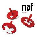Naef ネフ社 スイス コマ3点セット Swiss Kreisel〜スイス Naef(ネフ社)のスイスの国旗デザインの3種類の「スイス コマ」セットです。