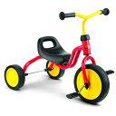 PUKY プッキー社 三輪車 フィッチ FITSCH レッド〜ドイツ PUKYのお子さまの初めての乗り物にオススメなマイ ファースト プッキー シリーズ。1歳半頃から遊べる三輪車です。【簡易ラッピング】