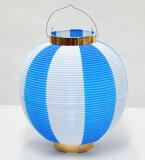 ちょうちん(Lサイズ)1個 青/白タイプ
