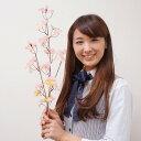 桜装飾 桜スプレー小枝 3本枝 60cm 12本セット / 飾り ディスプレイ 春