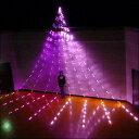 LEDナイヤガラスターライト8mDX ピンク&ベビーピンク640球 【イルミネーション・飾り・装飾・ディスプレイ】