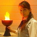 楽天販促イベント屋特殊照明擬似炎LED 卓上型