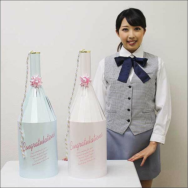 ワイン型ブライダルクラッカー(2ヶ)/ 動画有の紹介画像2
