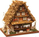 手作り「ハウス工作キット」 日本の街道「白川郷の合掌造り」【ドールハウス・ミニチュア】