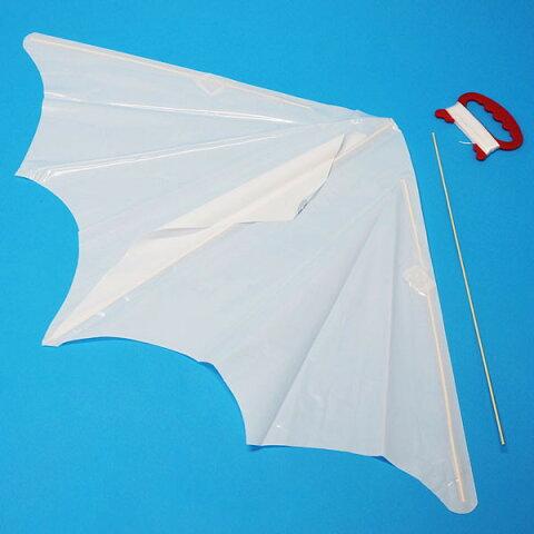 組立簡単 お絵描き70cmぐんぐん凧 [ビニール製] 30枚