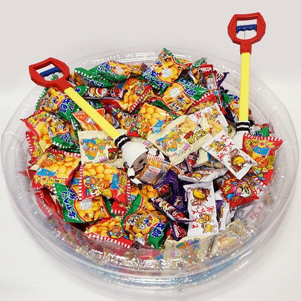 スナック駄菓子とキャンディのUFOキャッチャーつかみどり (1000個)