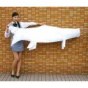 色塗りできる 白色布製こいのぼり 180cm / 手作り工作...