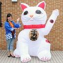 [送料無料] お正月装飾 ジャンボエアブロー 招き猫A 21...