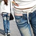 ロリータ ジーンズ ウォッシュ ヴィンテージ ボーイズ LolitaJeans レディース レデイース ボーイフレンド ボーイズデニム
