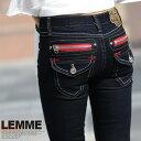 ★シンプルでカジュアルな着心地抜群のジーンズブランド!【cocontg jeans】『REDZIP×ポケットジーンズ』★nt-806-ss【10P05Dec15】