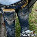 【宅急便送料無料】バックはポケットが最大のポイントのストレートフィット ロリータジーンズ LolitaJeans ロリータ ジーンズ Lolita Jeans ...