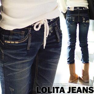 ロリータ ジーンズ ウエスト スキニー LolitaJeans