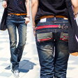 ショッピングジーンズ ロリータ ジーンズ LOLITA JEANS 通販 lolita jeans サイズ◆lo-1774【送料無料】ボトム デニム ボーイズ RED ZIP ポケット 刺繍 ジーンズ 美脚 レディース【10P05Dec15】