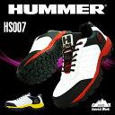 送料無料 HUMMER ハマー 安全靴 作業靴 安全スニーカー 鋼製先芯 耐油 ゴム底 EVA 衝撃吸収 反射材 クッション性 防災 土木 機械製造 弘進ゴム HS-007