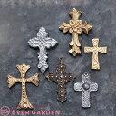 クロス 十字架 2個セット ジュエリー アクセサリー パーツ...